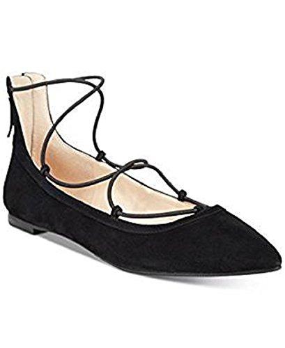 Inc International Concepts Womens Zachh Chaussures À Lacets Noir Suède 5.5