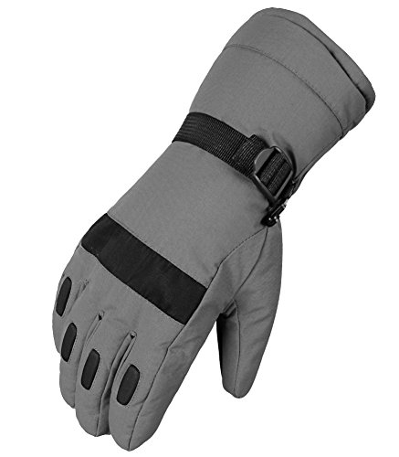 WATERFLY Ski Gloves Snowmobile Warm Riding Gloves Winter Gloves Skating Gloves Athletic Mittens for Men