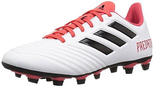 Adidas Golf Sandals - adidas Originals Unisex-Kids Ace 18.4 FxG, White/Core Black/Real Coral, 6.5 M US Big Kid