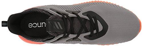 adidas Performance Herren Alphabounce M Laufschuh Grau / Utility Black / Energie