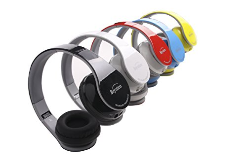 New-BlackRedWhiteBlueYellowPink-More-Color-Bluetooth-wireless-headphones-HiFi-Stereo-Built-in-Mic-phone-with-Retail-Package