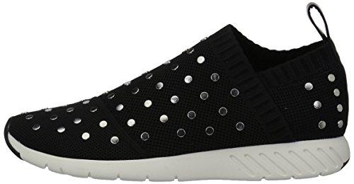 Dolce Vita Women's Bruno Sneaker, Black Knit, 7.5 Medium US by Dolce Vita (Image #5)