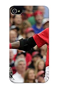 LpJlqz-3060-fZakJ Awesome Boston Red Sox Baseballjl Flip Case With Fashion Design For Iphone 4/4s As New Year's Day's Gift
