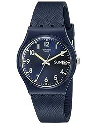 Swatch Unisex GN718 Originals Navy Blue Watch