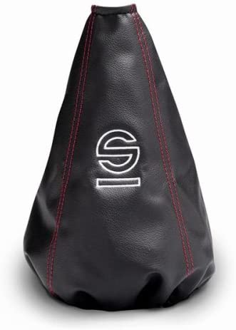 Sparco Black//Red Basic Universal Gear Gaiter Shift Boot 037541NRRS