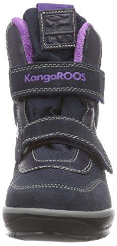 Doublure 2019 Moyenne Kangaroos Bleu Navy Bottes Hauteur dk Chaude Kangasnowgirls Neige violet De Enfant 463 Mixte q4fYYx05w