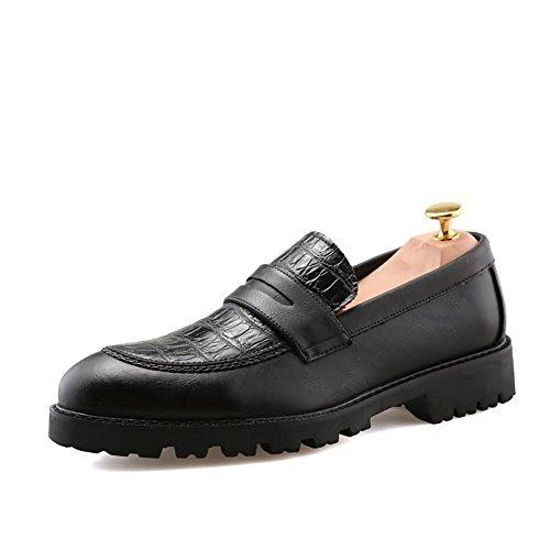 shoes in Dimensione lacci sintetica 42 Primavera Fang con Scarpe Rosso Color pelle Estate uomo basse 2018 uomo da Nero da stringate EU dqOFzU