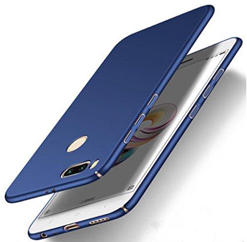 SPAK Xiaomi Mi 5X,Xiaomi Mi A1 Case, Hard PC Back Cover Protection Case for  Xiaomi Mi 5X,Xiaomi Mi A1 (Blue)