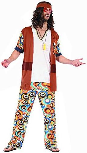 Disfraz hippie hombre - L: Amazon.es: Juguetes y juegos