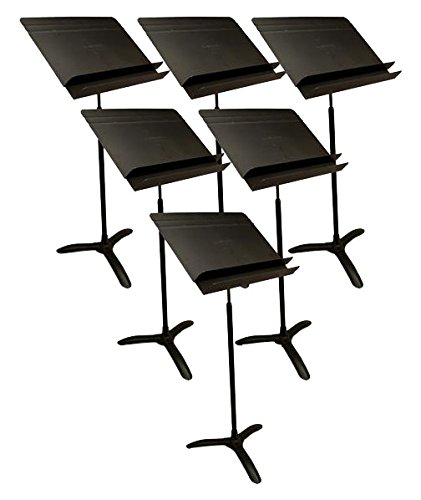 Manhasset 5006 Model #M50 Orchestral Music Stand - 6 pack