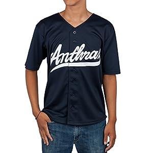 Anthrax - Big A Pentagram Baseball Jersey - X-Large