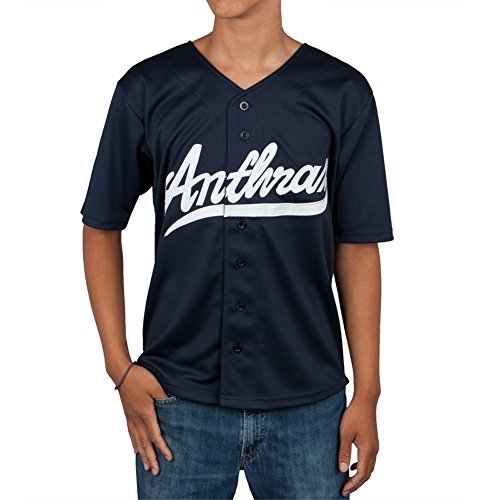 Anthrax - Big A Pentagram Baseball Jersey - X-Large by Unknown