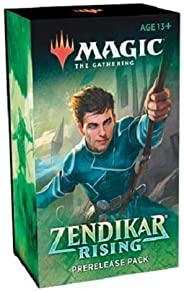 MTG Magic The Gathering Zendikar Rising Prerelease Pack Kit Box 6 Booster Packs