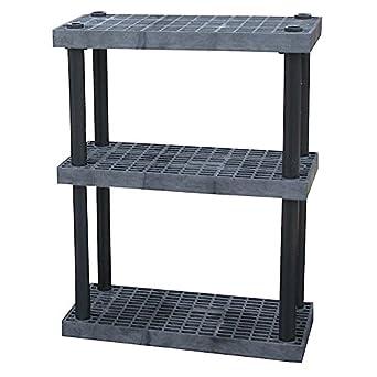 amazon com structural plastics dura shelf plastic shelving with rh amazon com Plastic Small Adjustable Shelving Deep Plastic Adjustable Shelving Systems