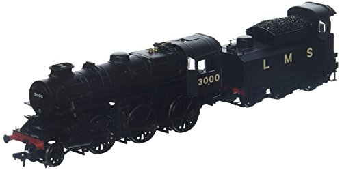 Bachmann Europe Branch-Line 32-575A Ivatt Class 4MT 3000 LMS Black OO Scale Model Train from Bachmann Europe