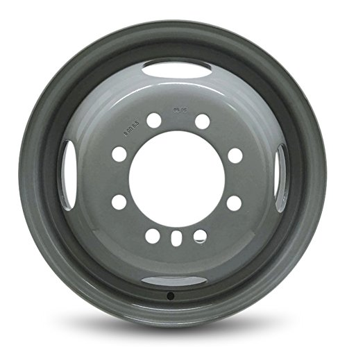 - Road Ready Car Wheel For 2007-2019 Ford E350SD 16 Inch 8 Lug Gray Steel Rim Fits R16 Tire - Exact OEM Replacement - Full-Size Spare