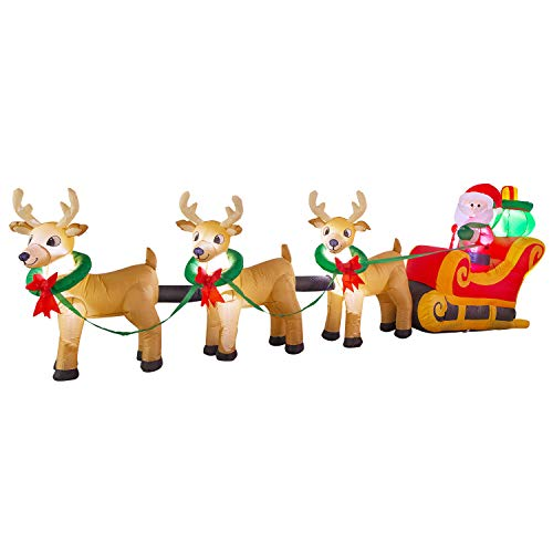 Outdoor Sleigh With Lights in US - 8