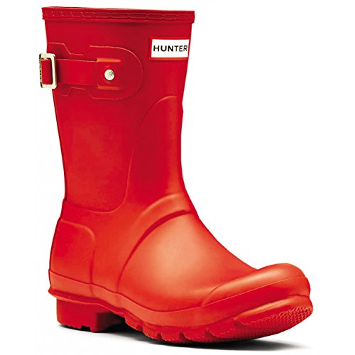 Hunter Unisex Original Short Gloss Rubber Boot (Chasseur Rouge) wgQxGpyH4j