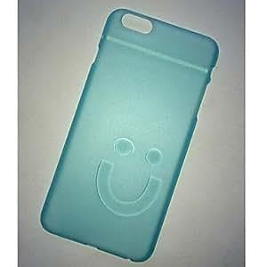 GX colorsolid pc translúcida cubierta trasera dura para el iPhone 6 Plus (color clasificado) , White
