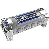 Power Acoustik PCX5F Digital Capacitor 5-Farad 24VDC W/Tinted Plexiglas Window Consumer Electronics Accessories