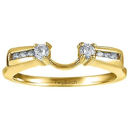 0.31 Ct Princess Diamond - 6
