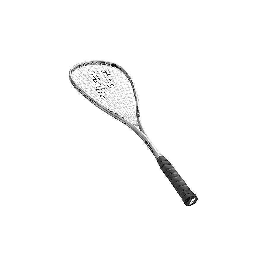 Prince O3 Black Prestrung Squash Racquet