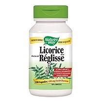 Nature's Way Licorice Root Health Supplement, 100 Count
