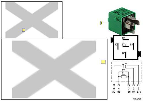 BMW Green Relay 8353447 61368353447 SIEMENS V23134-N52-X171