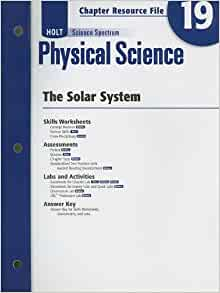 Amazon.com: Holt Science Spectrum: Physical Science with ...