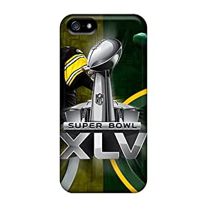 Tpu Lilyercases Shockproof Scratcheproof Green Bay Packers Hard Case Cover For Iphone 5/5s