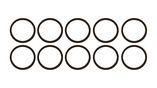 """O-202 202 O Ring Seal Buna N; 1//4/"""" ID X 1//2/"""" OD X 1//8/"""" CS Pack of 20"""