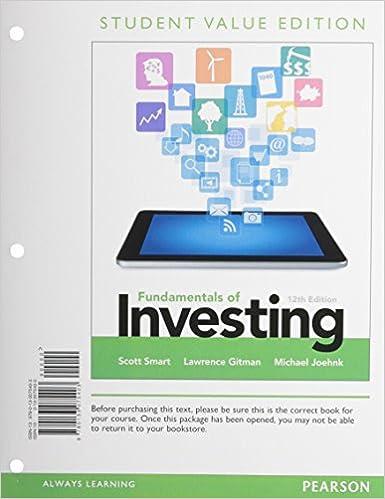amazon com fundamentals of investing student value edition 12th