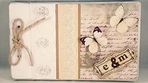 Libro de firmas para boda personalizado - Libro de firmas