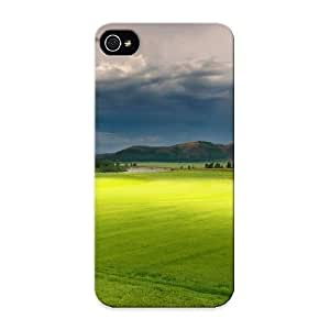 Freshmilk Snap On Hard Case Cover Spring Background Protector For Iphone 5/5s