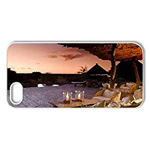 Beautiful Place and Great View - Case Cover for iPhone 5 and 5S (Modern Series, Watercolor style, White)