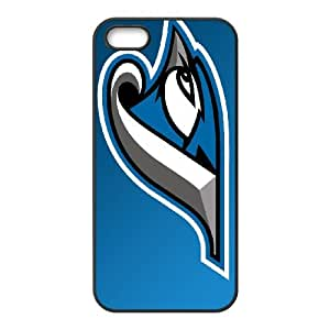 Sports toronto blue jays cap insignia iPhone 5 5s Cell Phone Case Black 91INA91395580