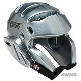 ProForce Lightning Sparring Headgear - Silver - Large