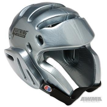 ProForce Lightning Sparring Headgear - Silver - Medium