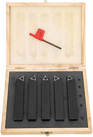 5PCs 3/4-Zoll-Hartmetall-Drehschneidwerkzeug Schneidverkleidungswerkzeuge Indexierbarer Hardware-Fräser zum Bohren/Anfasen