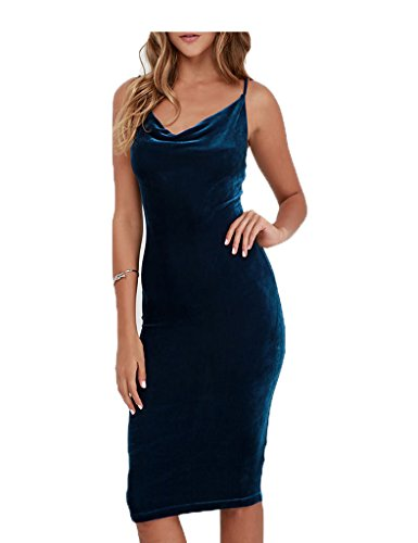 CHARLES RICHARDS Womens Velvet Bodycon