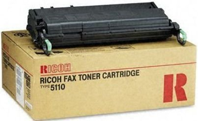RICOH Fax, Toner, 5000L, 5510L, Black - 10k Page Yield - Replaces 430208, Type 5110 by Ricoh(Ricoh Toner 5110 Fax Type)