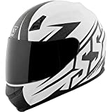 Speed and Strength SS700 Hammer Down Adult Street Motorcycle Helmet - White/Medium