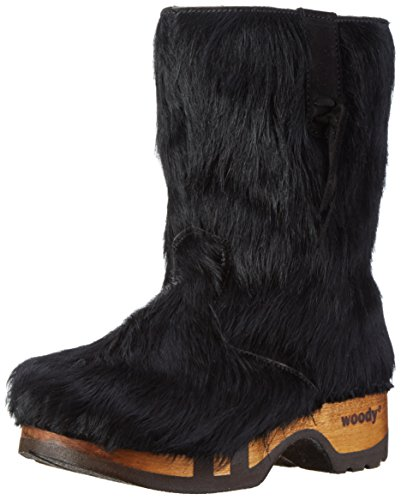 Woody Rose, Women's Boots Schwarz/Schwarz