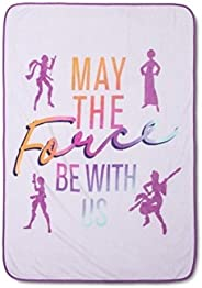 Jay Franco Star Wars Forces of Destiny Throw Blanket, Purple