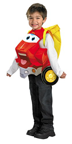 Boys Chuck Deluxe Kids Child Fancy Dress Party Halloween Costume, One Size (up to 6)