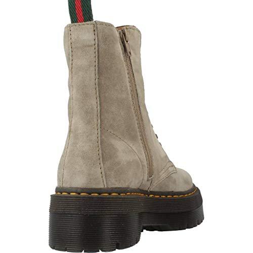 kaky 3475 Donne Colore Stivali Marca Alpe 11 Donne Modello Sporco Grigio Sporco Per Le Bianco qvxwx6HtT