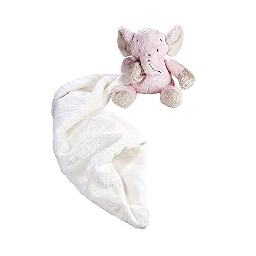 Bébé cadeau - Doudou en peluche rose petit éléphant bébé fille jouet naissance