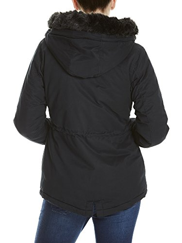 Noir Jacket Padded With Blouson Lining Beauty Fur Bk11179 Femme black Bench T0OxnB0