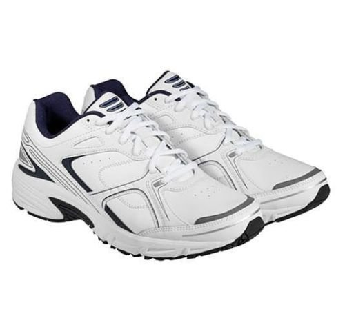 37c6d8eff4ae69 Kirkland Signature 725853 White Blue Running Shoes Size 12 - Import ...