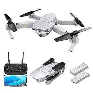 Drone avec caméra 1080P HD WIFI Caméra Pro réglable-rotative EACHINE-E58 PRO DRONE Pliable FPV quadcopter
